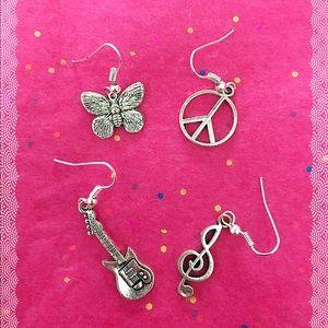 Jewelry - ⬇️5/$20⬇️ Joy, Peace, & Rock n Roll